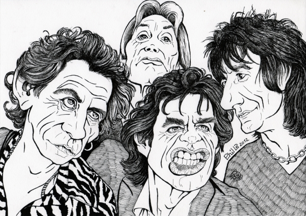 The Rolling Stones by PhilLP